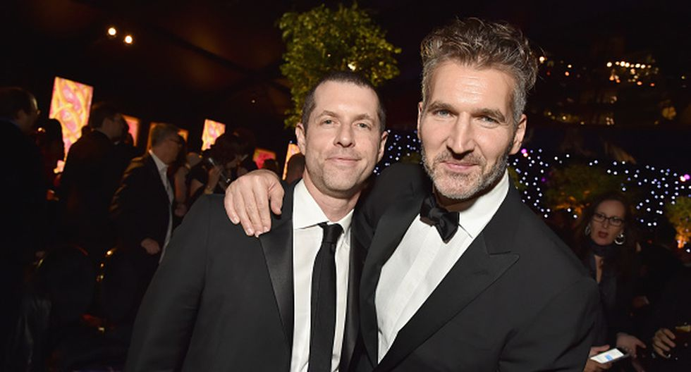 "David Benioff y Dan Weiss, creadores de la aclamada serie ""Game of Thrones"". (Getty Images)"