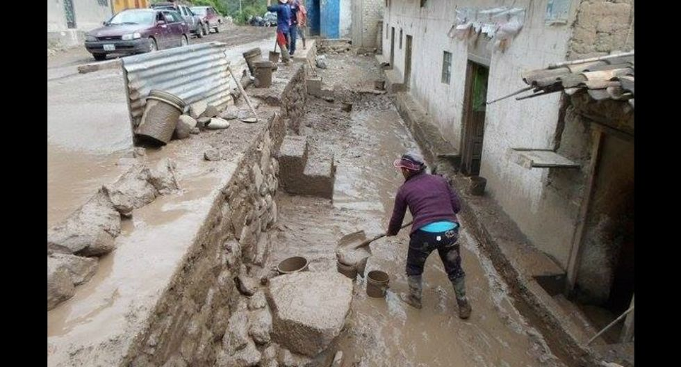 Huaico inunda varias viviendas y arrasa cultivos en la provincia de Aymaraes, en Apurímac (GEC)
