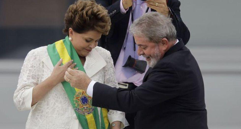 Rousseff dejó de ser vista como la candidata que Lula postuló porque no podía postular. (AP)