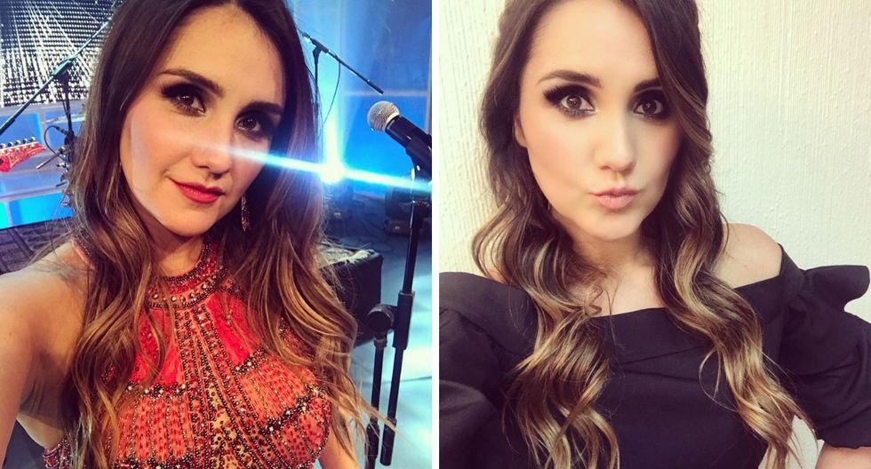 """Dulce María recuerda con peculiar fotografía junto a Irán Castillo la telenovela """"Clase 406"""" (Fotos: Instagram)"""