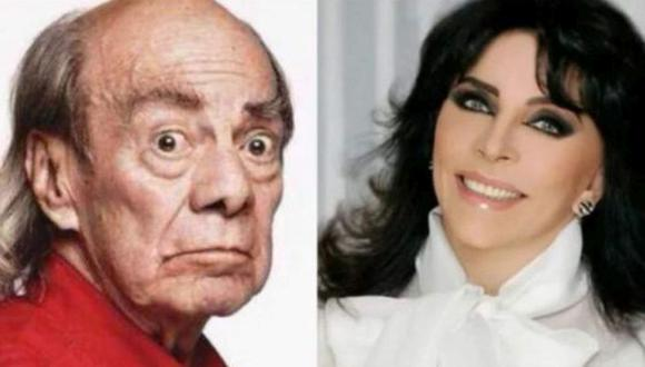 Cuando Manuel El Loco Valdés y Verónica Castro se conocieron, la actriz tenía 19 años de edad y él 41, pero a pesar de eso, el amor surgió (Foto: Instagram)