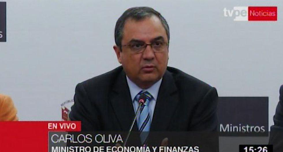Ministro de Economía descarta una recesión por la situación política luego del mensaje a la Nación. (TV Perú)
