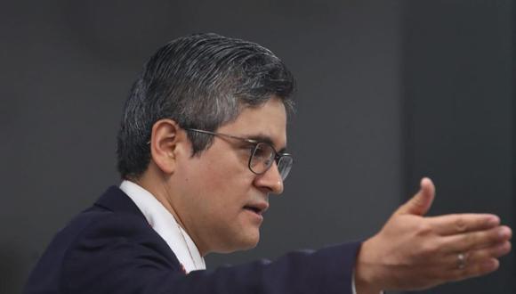 El fiscal José Domingo Pérez rechazó las expresiones de Karem Roca en audios difundidos. (Foto: Alessandro Currarino / GEC)