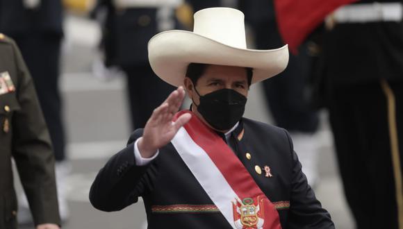 El presidente Pedro Castillo ha sido cuestionado por el gabinete ministerial que lleva a la cabeza a Guido Bellido (Foto: Anthony Niño de Guzmán/ @photo.gec)