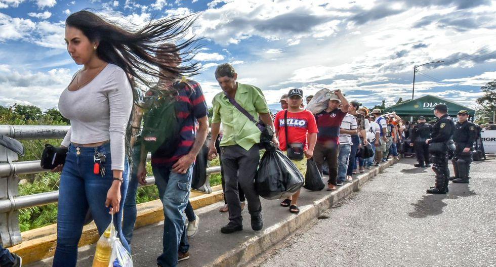 OEA: éxodo de venezolanos asciende a 4.7 millones. (AFP)