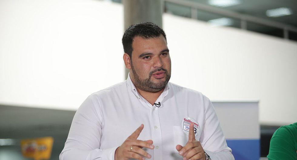 Guillermo Aliaga afirmó que está a favor de que se elimine la inmunidad parlamentaria. (Foto: GEC)