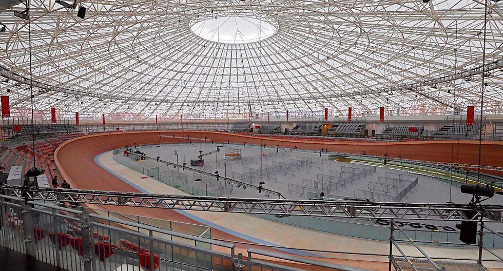Bajo techo. El velódromo es uno de los recintos remodelados en la sede de la Villa Deportiva. (Piko Tamashiro)