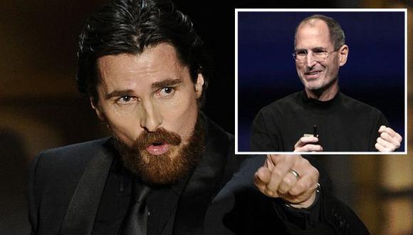 Christian Bale no cree que es la persona adecuada para interpretar a Steve Jobs. (AP)