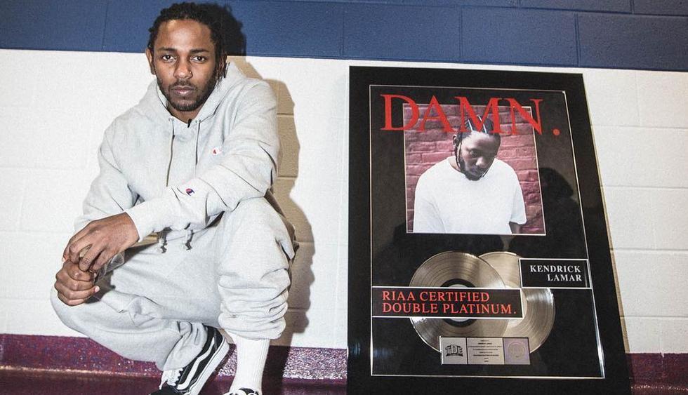 """Kendrick Lamar, como máximo responsable de la banda sonora de """"Black Panther"""", está nominado a álbum del año.(Foto: @kendricklamar)"""