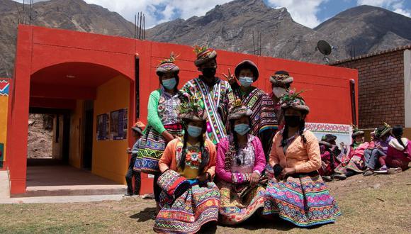 Unesco y Qroma inauguran la primera fase del primer Centro de Interpretación del Patrimonio Cultural en la comunidad de Sarhua. (Unesco)
