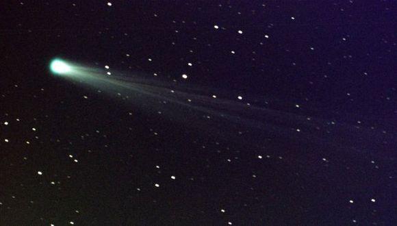De sobrevivir, el cometa podría ser visto desde la Tierra. (EFE)