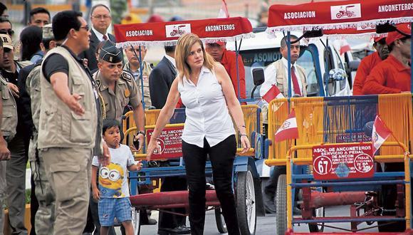 Sugerencia. Aráoz manifestó que espera un debate a fondo del proyecto a nivel parlamentario. (LuisCenturión/Peru21)