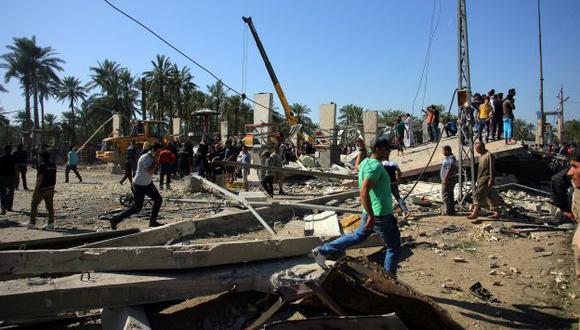 Unos 27 muertos y más de 50 heridos dejó atentado al sur de Bagdad. (EFE/Referencial)