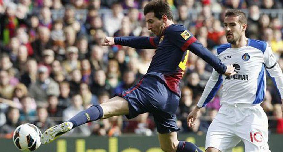 SIEMPRE ESTÁ. Messi sumó 35 goles en 23 fechas de liga. (AP)