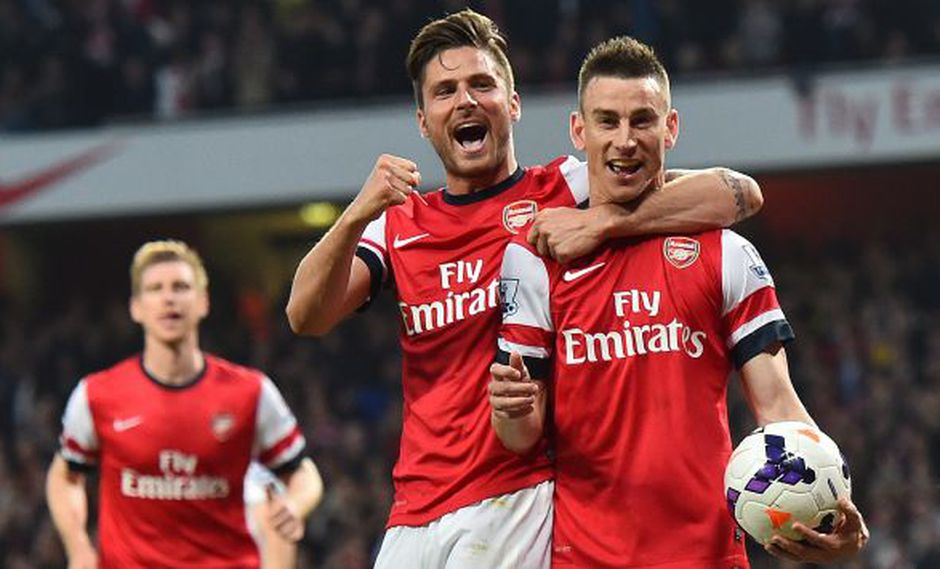 Arsenal golea al Newcastle y da un gran paso hacia la Champions League. (AFP)