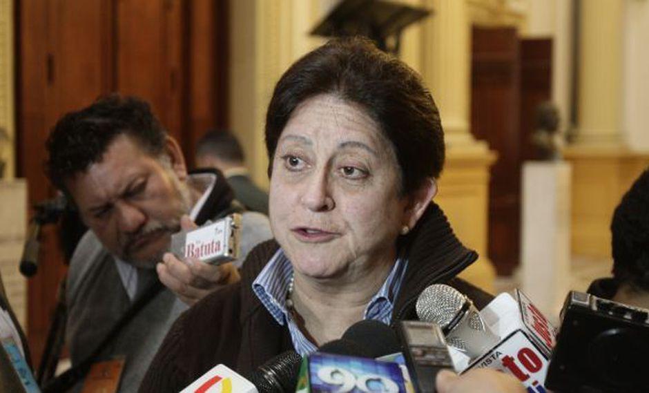 Lourdes Alcorta pidió que se aplique la ley en el tema de seguridad ciudadana. (USI)
