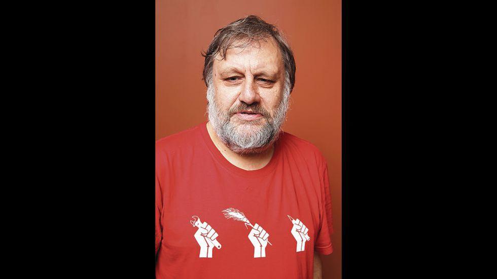"""El artículo sobre la pandemia de Slavoj Žižek, el pensador esloveno y líder de opinión, fue incluido en el libro """"Sopa de Wuhan"""", libro editado por el argentino Pablo Amadeo. [Foto: AFP]"""