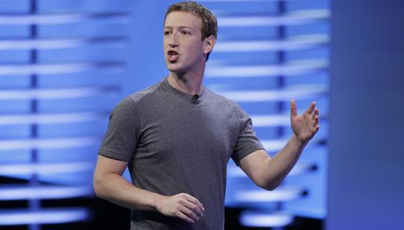 Mark Zuckerberg llegó a Lima en vuelo privado que aterrizó en Jorge Chávez.  (AP)