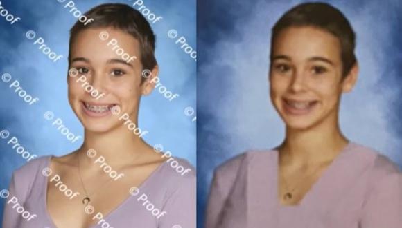Una escuela de Estados Unidos editó 80 fotos de sus alumnas para quitarles el escote en el anuario. (Foto: @mattxiv / Twitter)