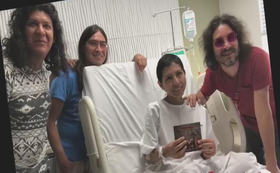 Una paciente que está dando la batalla al cáncer de cérvix en una clínica local solo tenía un deseo: ver en concierto a Amen, su banda favorita de rock & roll. (Facebook)