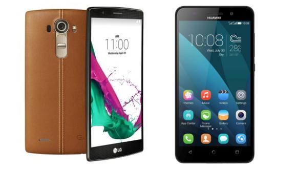 El G4 de LG y G Play de Huawei: Lo último en smartphones ya está en el Perú. (USI)