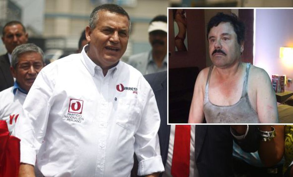 Consulta sobre El Chapo. Daniel Urresti no desaprovecha las oportunidades para arremeter contra el candidato del Apra. (USI)