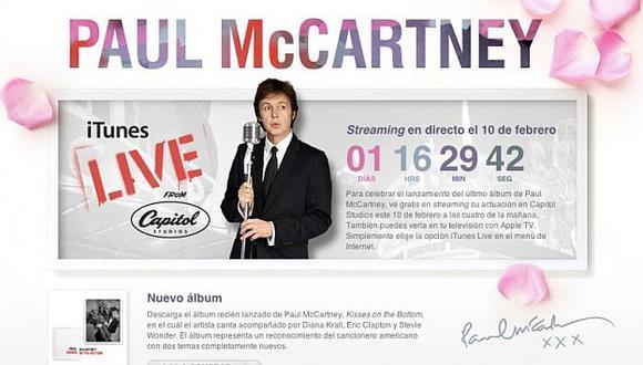 El evento también será trasmitido por Apple TV. (iTunes)