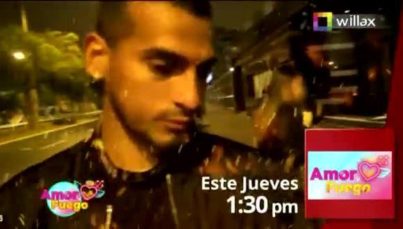 Miguel Trauco es captado con misteriosa mujer luego de derrota de Perú ante Argentina. (Foto: captura de video)