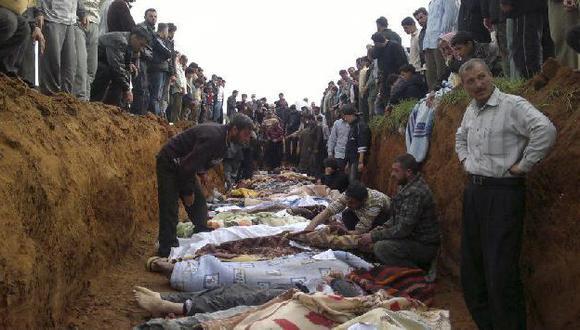 Activistas denuncian la muerte de 19 personas hoy. (AP)