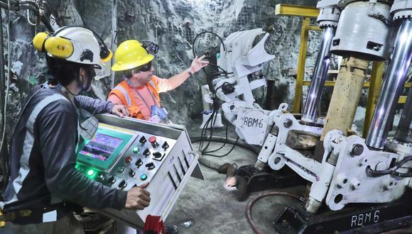 Las inversiones mineras en el Perú alcanzaron los US$ 2,048 millones en el año. (Foto: Difusión)