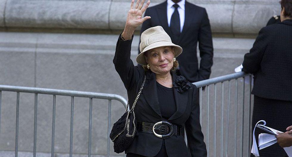 La periodista Barbara Walters. (AP)