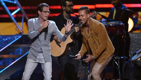 Marc Anthony y Romeo Santos cantarán en el Estadio Nacional el 7 de diciembre.