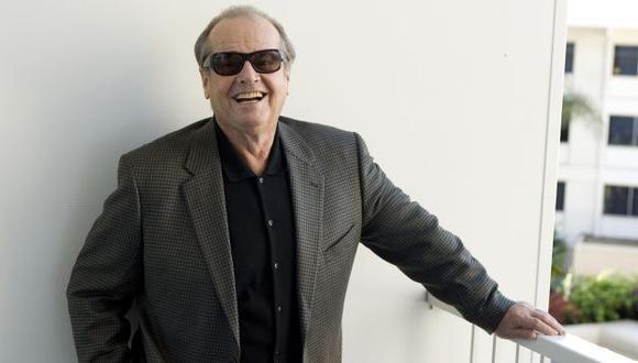 Jack Nicholson: Medios dicen que no sale de casa porque teme perderse. (Agencias)