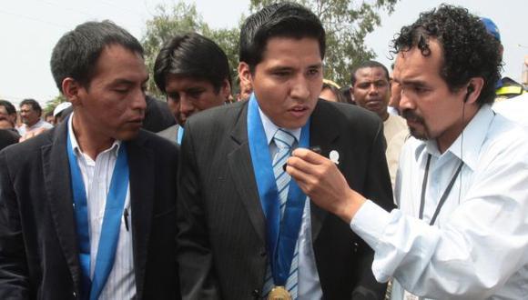 Iñigo (centro) reemplazó al vacado Santiago Mozo en diciembre pasado. (USI)