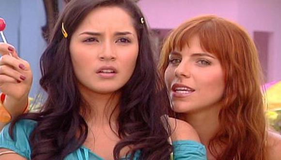 """Catalina Santana y Yésica Beltrán eras las mejores amigas. La amistad se terminó cuando """"La Diabla"""" traicionó a su amiga de la infancia (Foto: Telemundo)"""