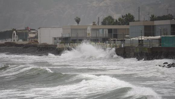 Alertan sobre oleajes irregulares en Lima y el resto del litoral. (USI)