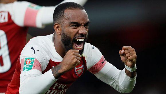Arsenal suma 5 triunfos consecutivos en Premier, Europa League y Copa de la Liga. (Foto: Reuters)