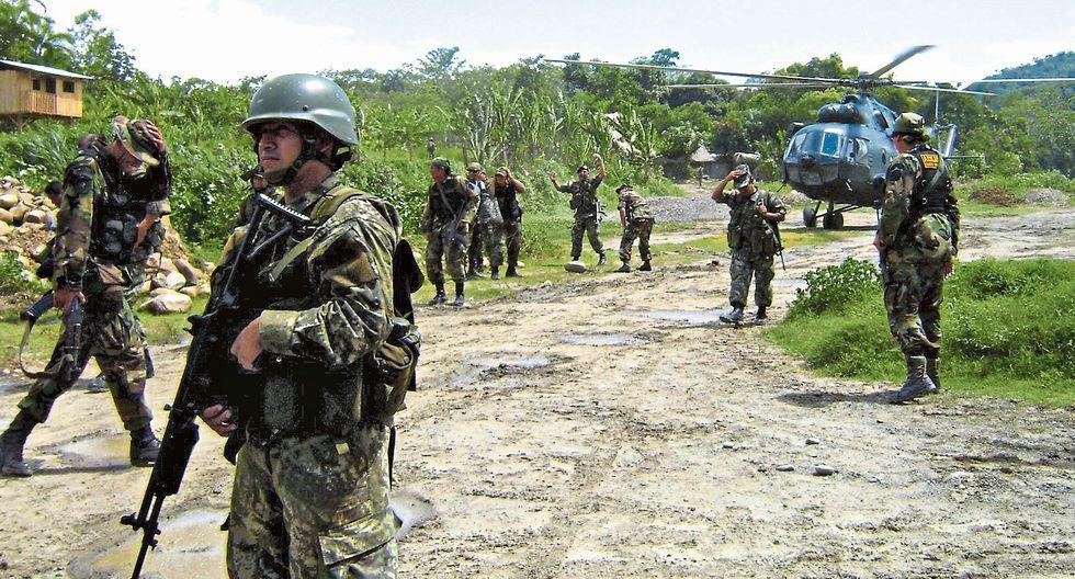Los intervenidos formaban parte de la denominada fuerza principal que está bajo las órdenes del camarada 'Antonio'. (GEC)