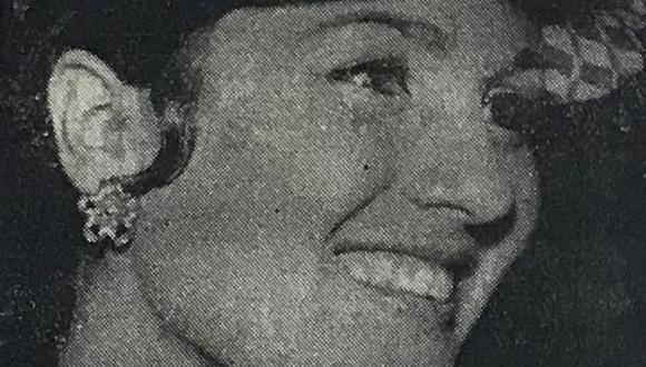 Cuchita Galindo, la bella amazona que dio su vida por el deporte para el que había nacido.  16 de noviembre de 1967 (Foto: GEC Archivo Histórico)