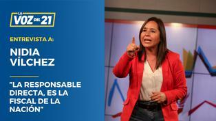 """Nidia Vílchez: """"La responsable directa, es la fiscal de la nación"""""""