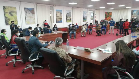 Cusco: autoridades regionales piden cuarentena rígida al Gobierno desde el 10 de agosto (Foto: GORE-Cusco)