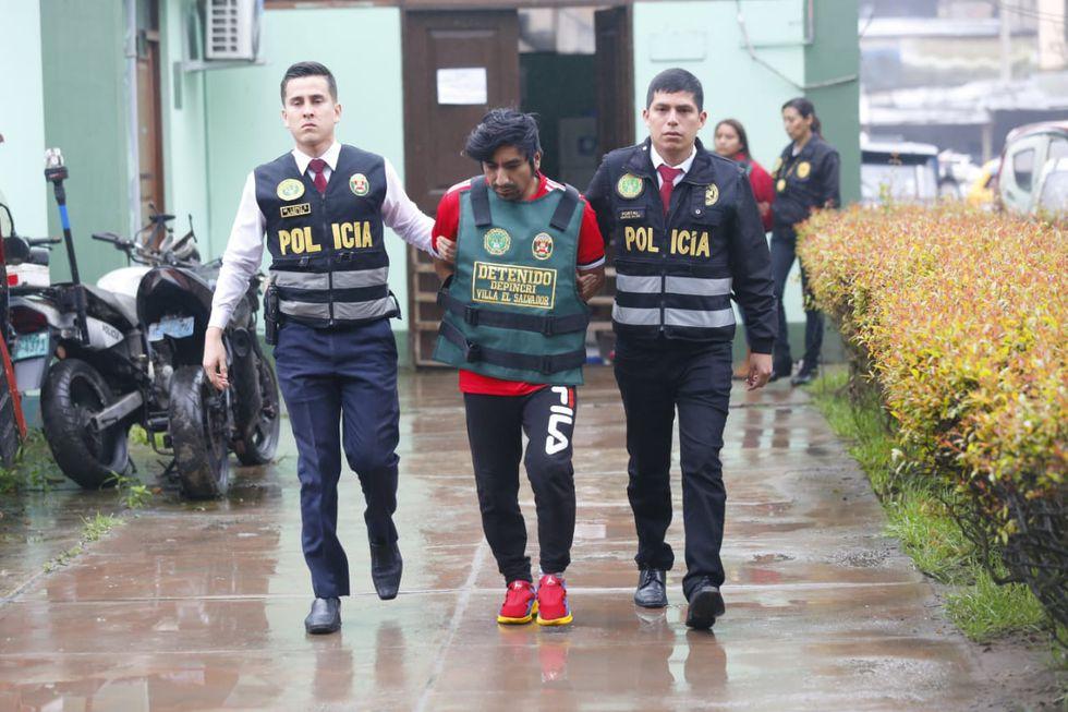 Luis Ángel Solorzano aceptó su participación en el crimen y señaló que quien habría planificado la muerte deCelso Nazario fue su expareja Lava Solano. (Foto: Cesar Grados/ GEC)