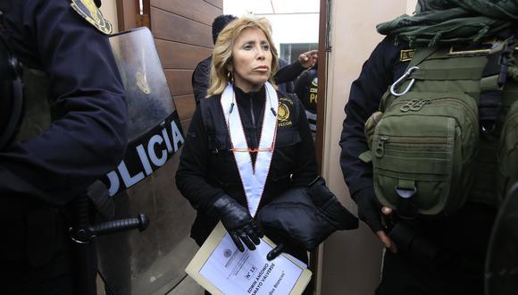 Fiscal Sandra Castro se refirió a la confirmación del arresto domiciliario por tres años para José Luna Gálvez. (Foto: GEC)
