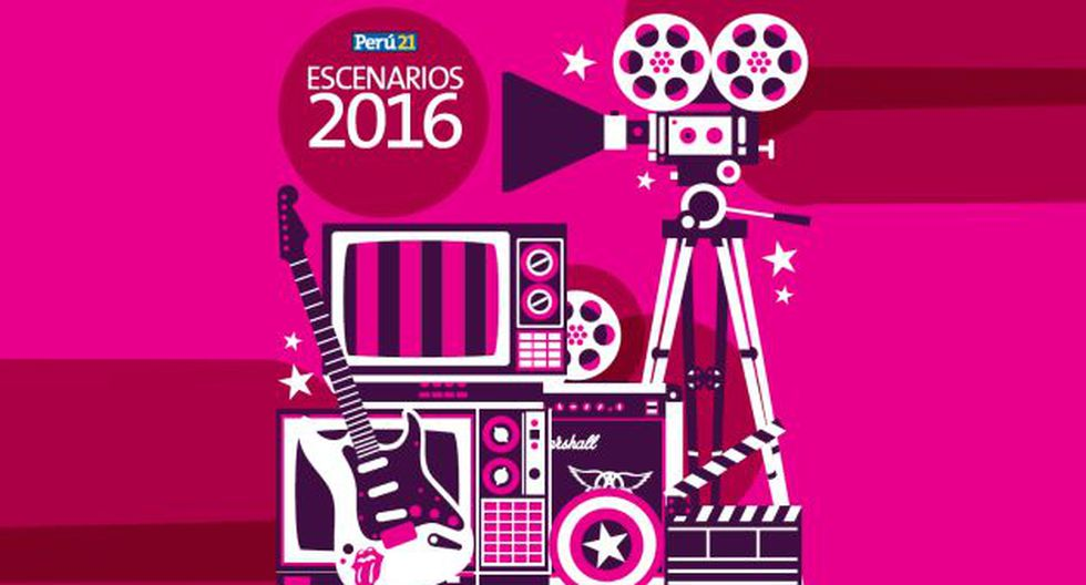 Escenarios 2016: Mira lo mejor de la TV, música y cine a nivel nacional e internacional. (Perú21)