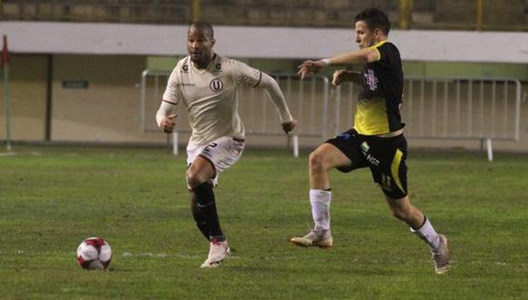 Alberto Rodríguez fue cambiado y no salió para el segundo tiempo del duelo ante Cantolao. (Foto: Universitario de Deportes)