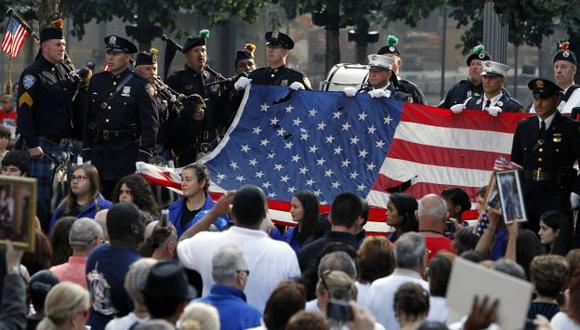 Recordaron a las víctimas. (AP)