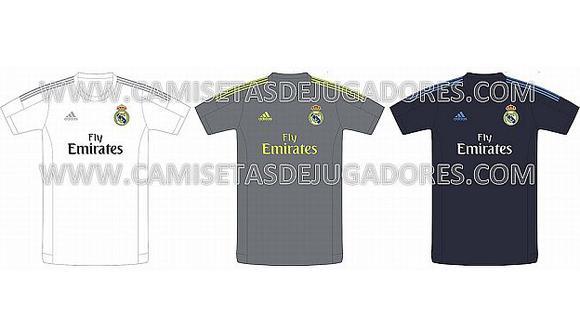 Estas son las posibles camisetas del Real Madrid para la temporada 2015-2016 (camisetasdejugadores.com)