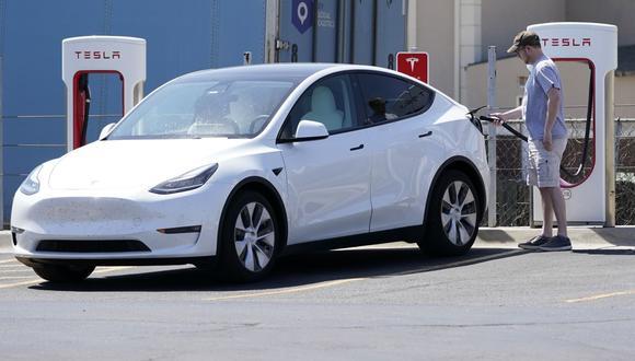 Auto eléctrico. (Foto: AP)