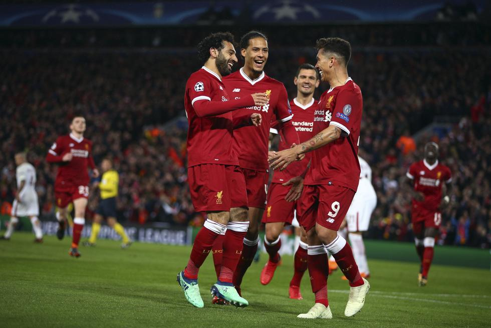 La revancha entre Liverpool y Roma se disputará el próximo miércoles 2 de mayo en la capital italiana. (AP)