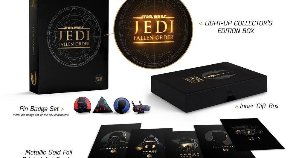 'Star Wars Jedi: Fallen Order' saldrá a la venta el próximo 15 de noviembre para PlayStation 4, Xbox One y PC.